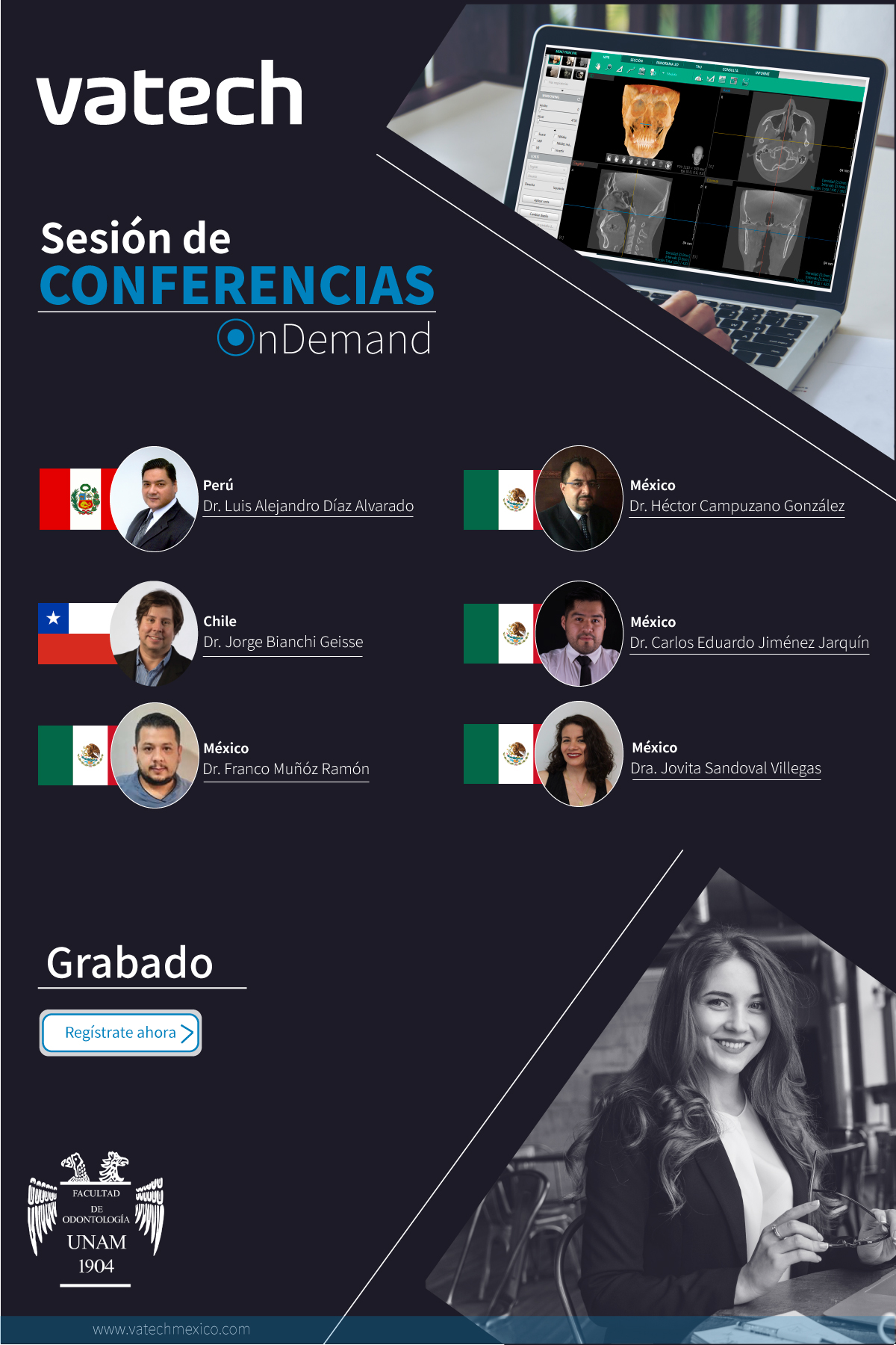 Sesión de Conferencias Online | OnDemand