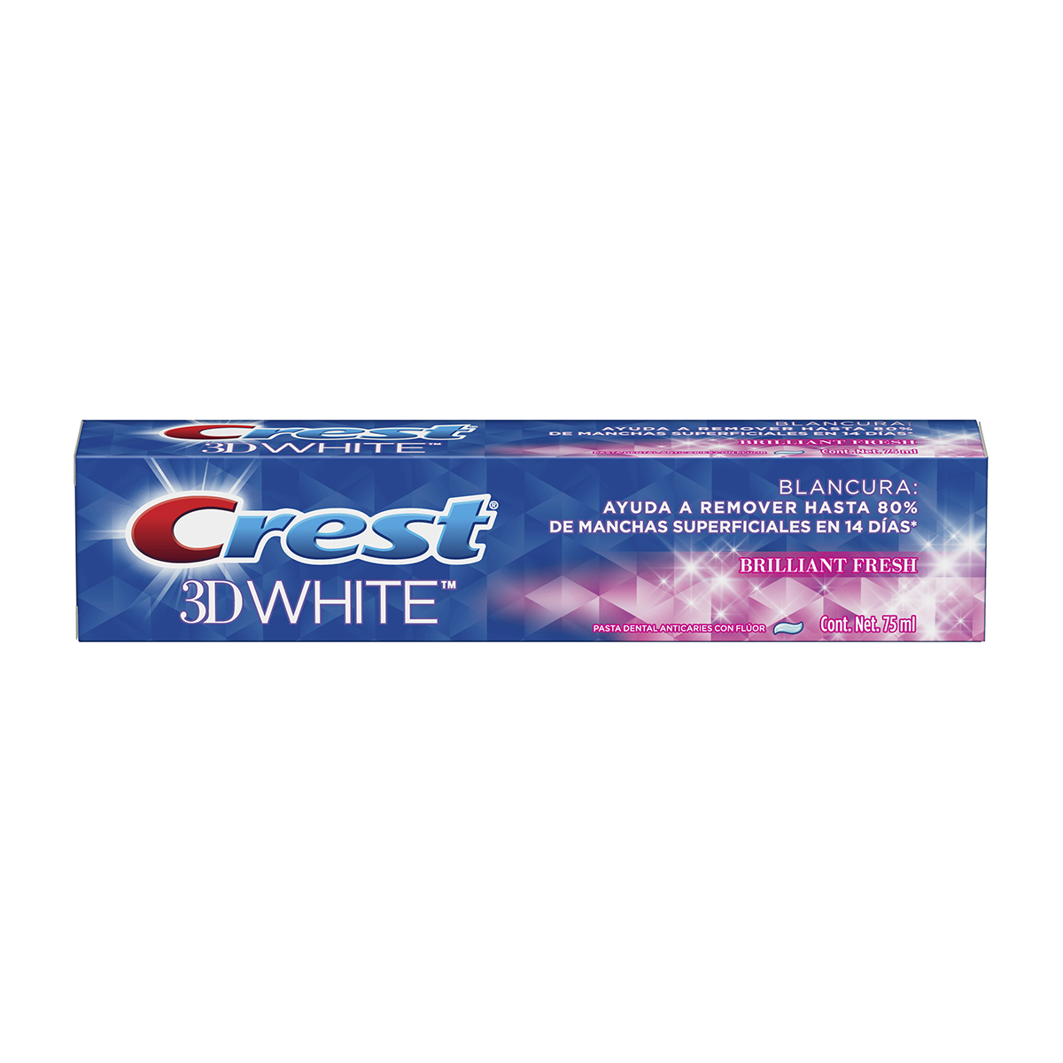 CREST 3D Brilliantfresh 75ML