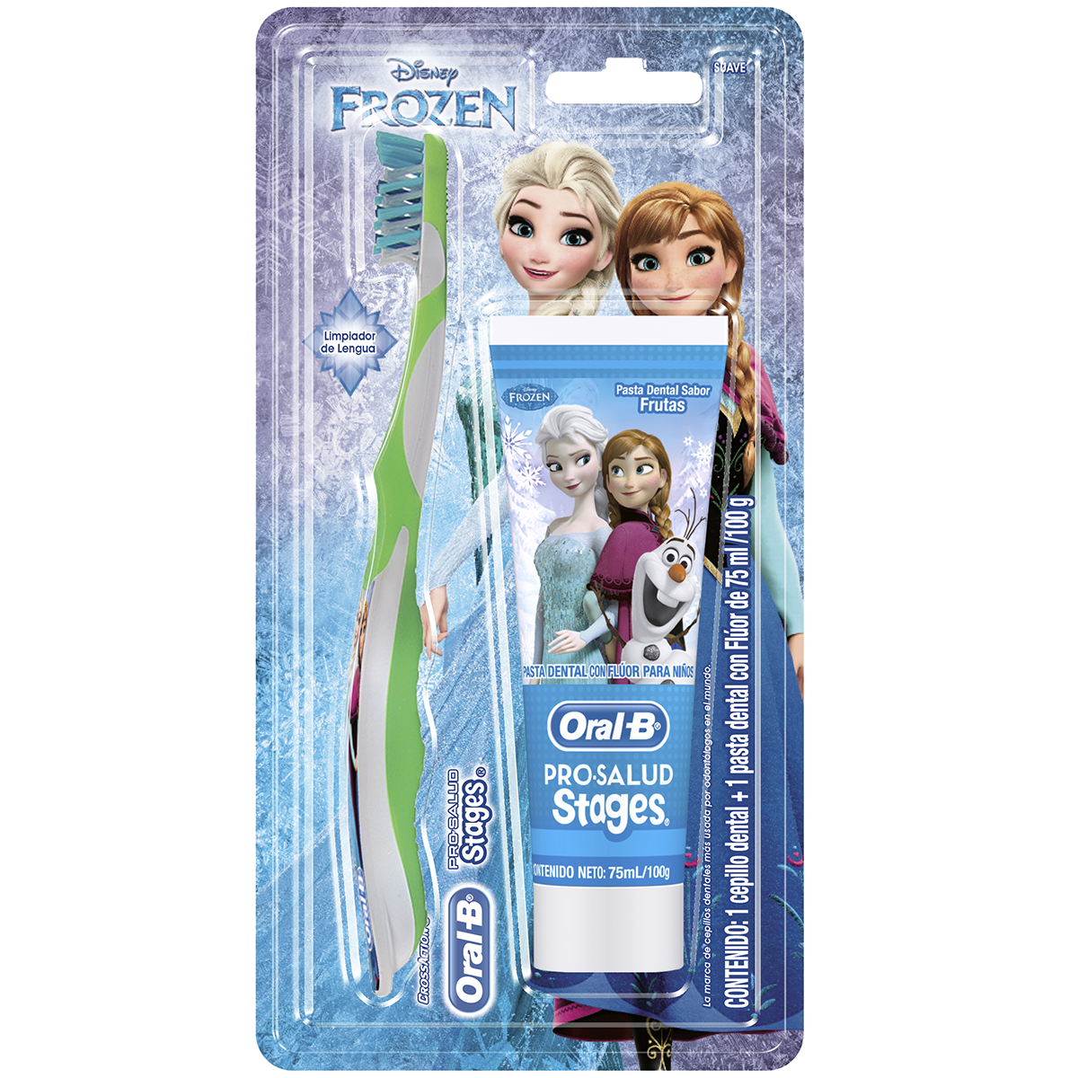 KIT ORAL-B Stages Frozen 75ml & Brush